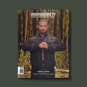 #19 HIGHSNOBIETY MAGAZINE - MICHAEL B. JORDAN EDITION