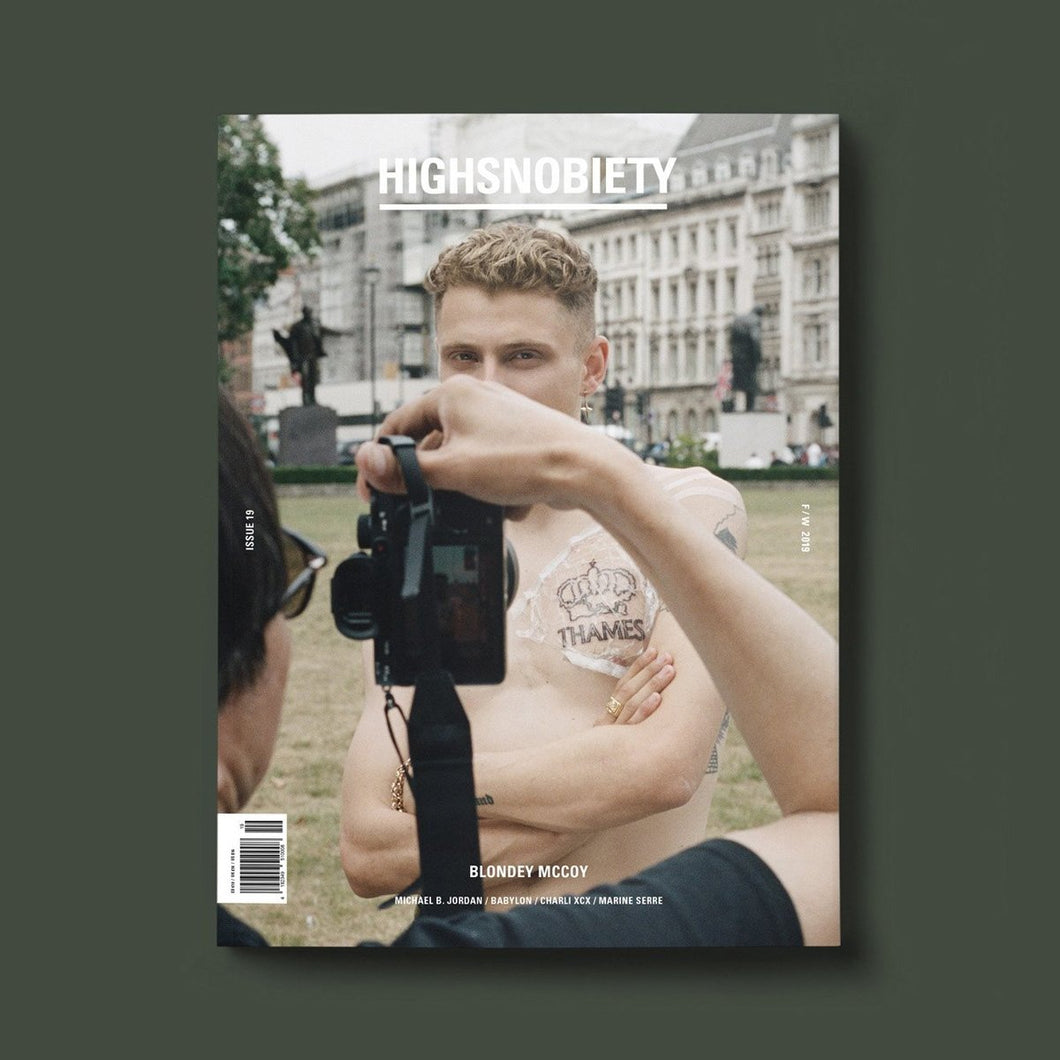 #19 HIGHSNOBIETY MAGAZINE - BLONDEY EDITION