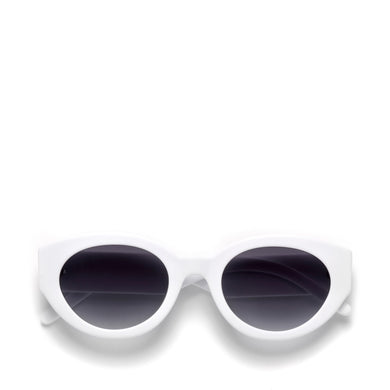 ABSTRACT SUNGLASSES MATTE WHITE