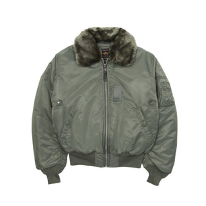 B15 Flight Jacket Sage Green Jackets