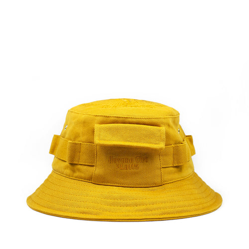 TECHNICAL CARGO BUCKET HAT GOLD