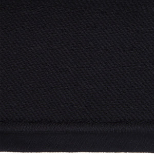 CARGO CROP MOCK NECK SWEAT BLACK