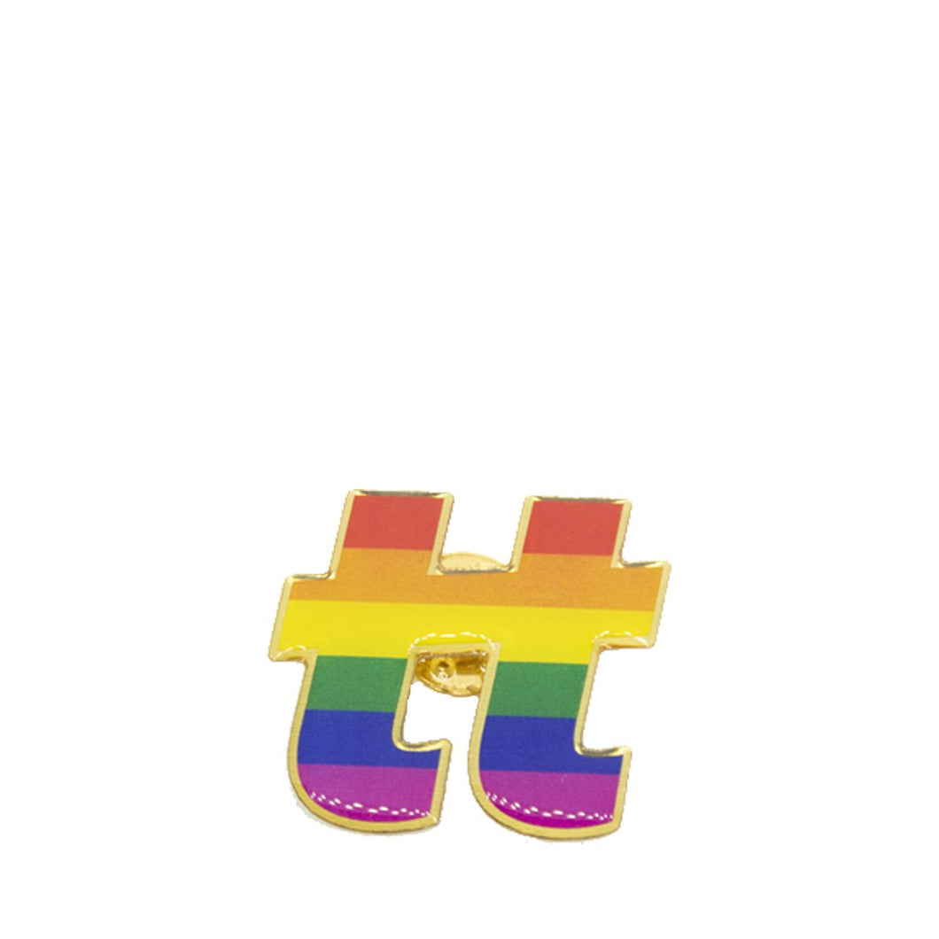 TWO T PIN PRIDE