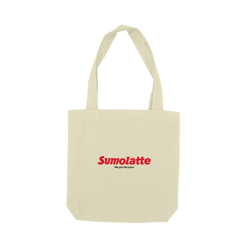 SUMOLATTE TOTE BAG NATURAL