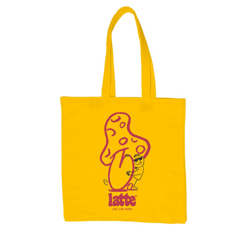 SHROOM TOTE BAG YELLOW