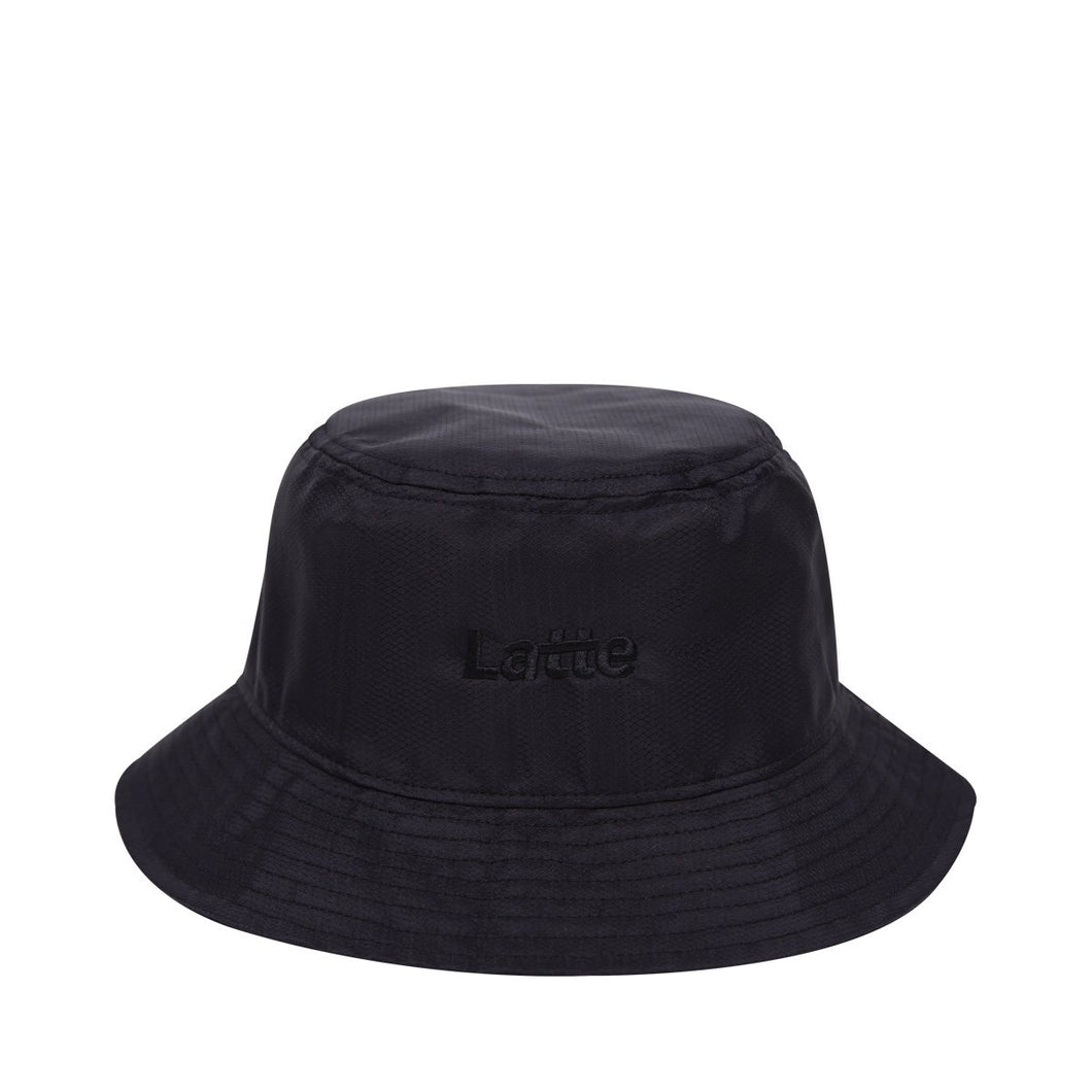 TWO FACE BUCKET HAT BLACK