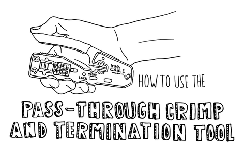 How To: Pass-Through Crimp and Termination Tool