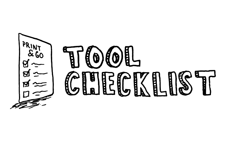 Print & Go DIY Cable Installation Tool Checklist