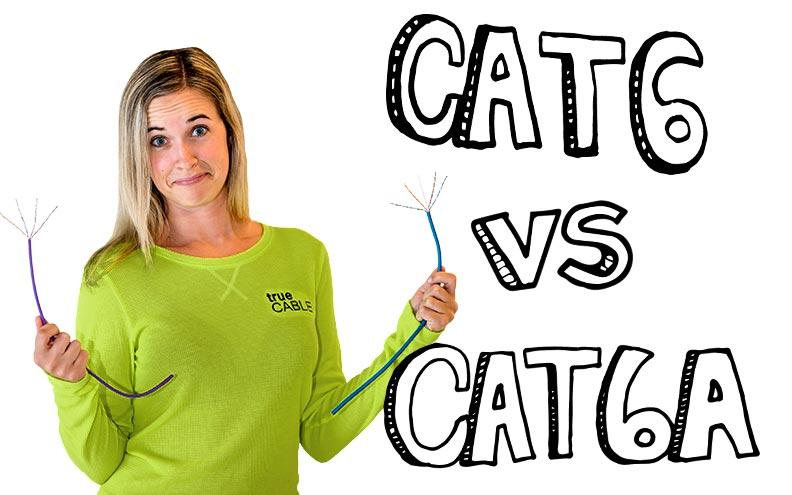 The Difference Between Cat6 vs Cat6A Ethernet Cable