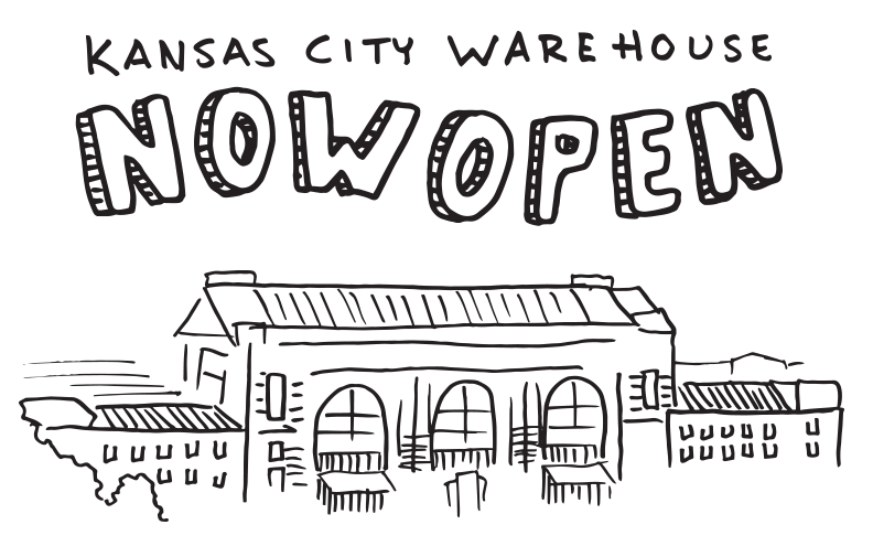 Kansas City Warehouse Now Open!