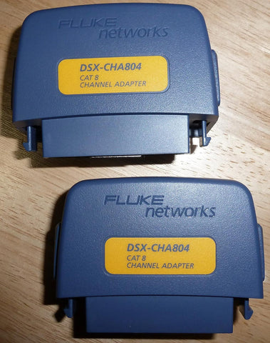 Fluke DSX-8000 Channel Adapters