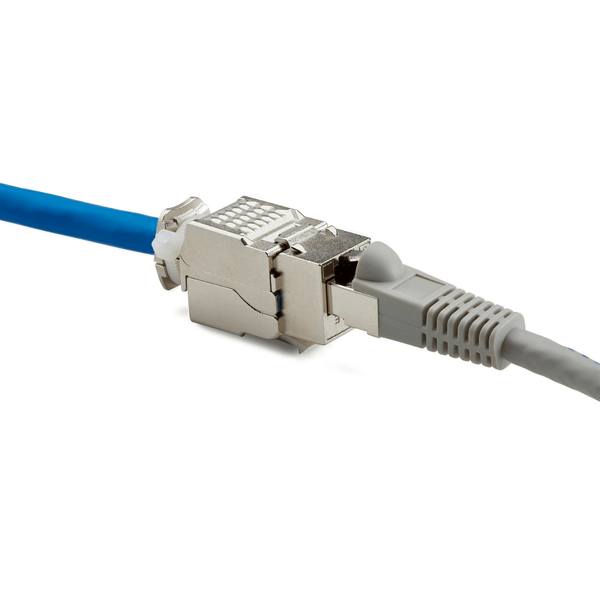 Cat6 Toolless Keystone Jack | Shielded
