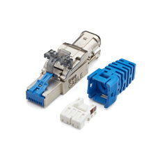 Cat6A Field Term Plug | Shielded