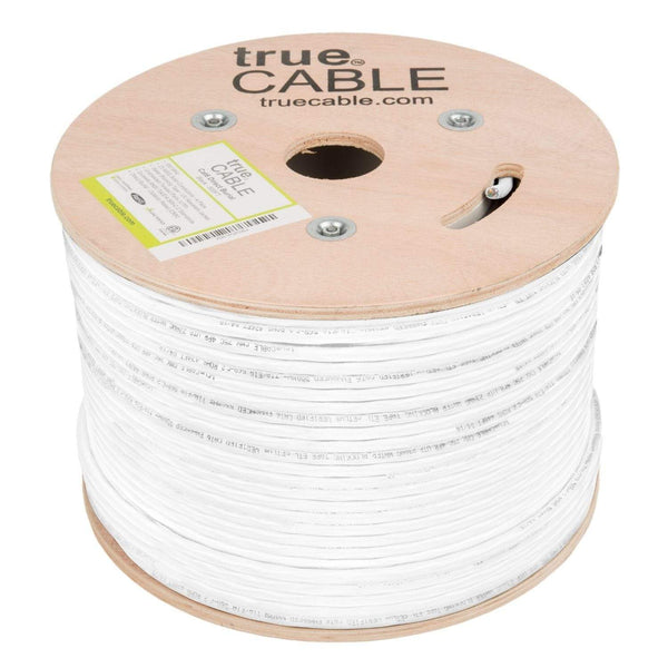 Outdoor Cat6 Cable White 500ft trueCABLE No Wrap