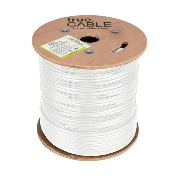 Cat6 Shielded Direct Burial Cable White 500ft trueCABLE Top