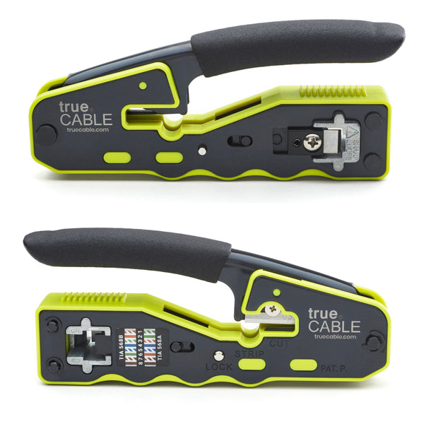 Pass Through Crimp and Termination Tool - Front & Back