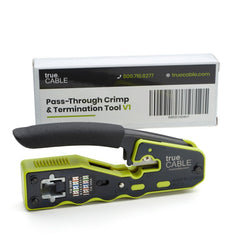 Pass Through Crimp and Termination Tool