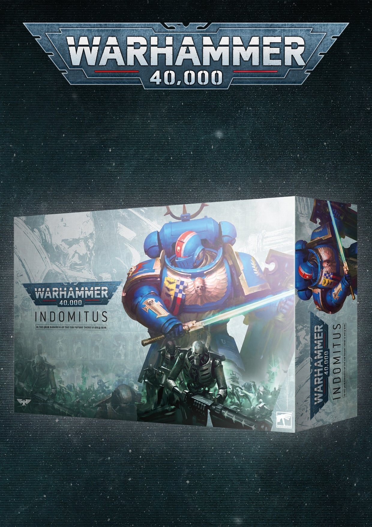 Warhammer 40K: Indomitus available for PreOrder
