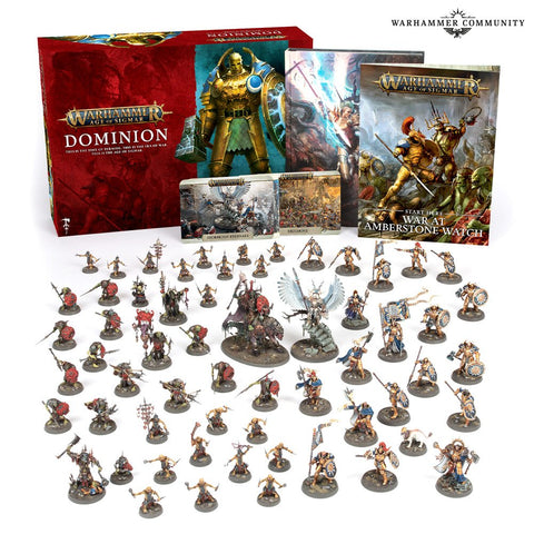 Warhammer Age of Sigmar Dominion Tabletop Miniatures Game