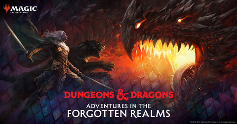 MTG Prerelease Event at The Compleat Strategist for D&D Adventures in the Forgotten Realms
