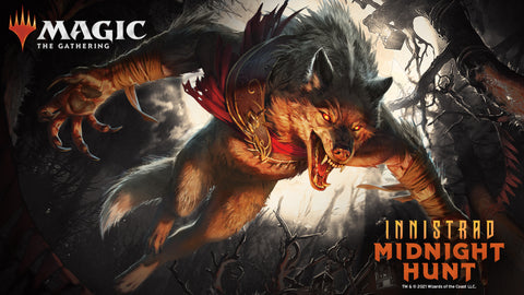 MTG Innistrad Midnight Hunt Prerelease Event at The Compleat Strategist