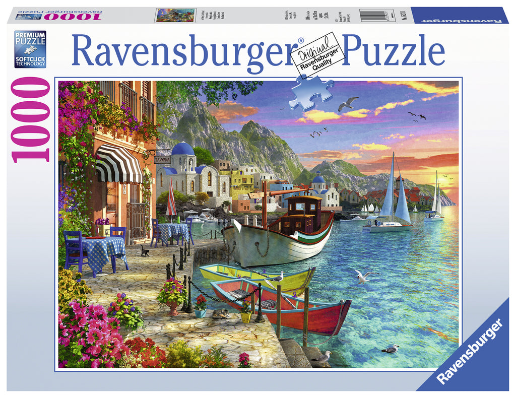 Grandiose Greece 1000 piece jigsaw puzzle