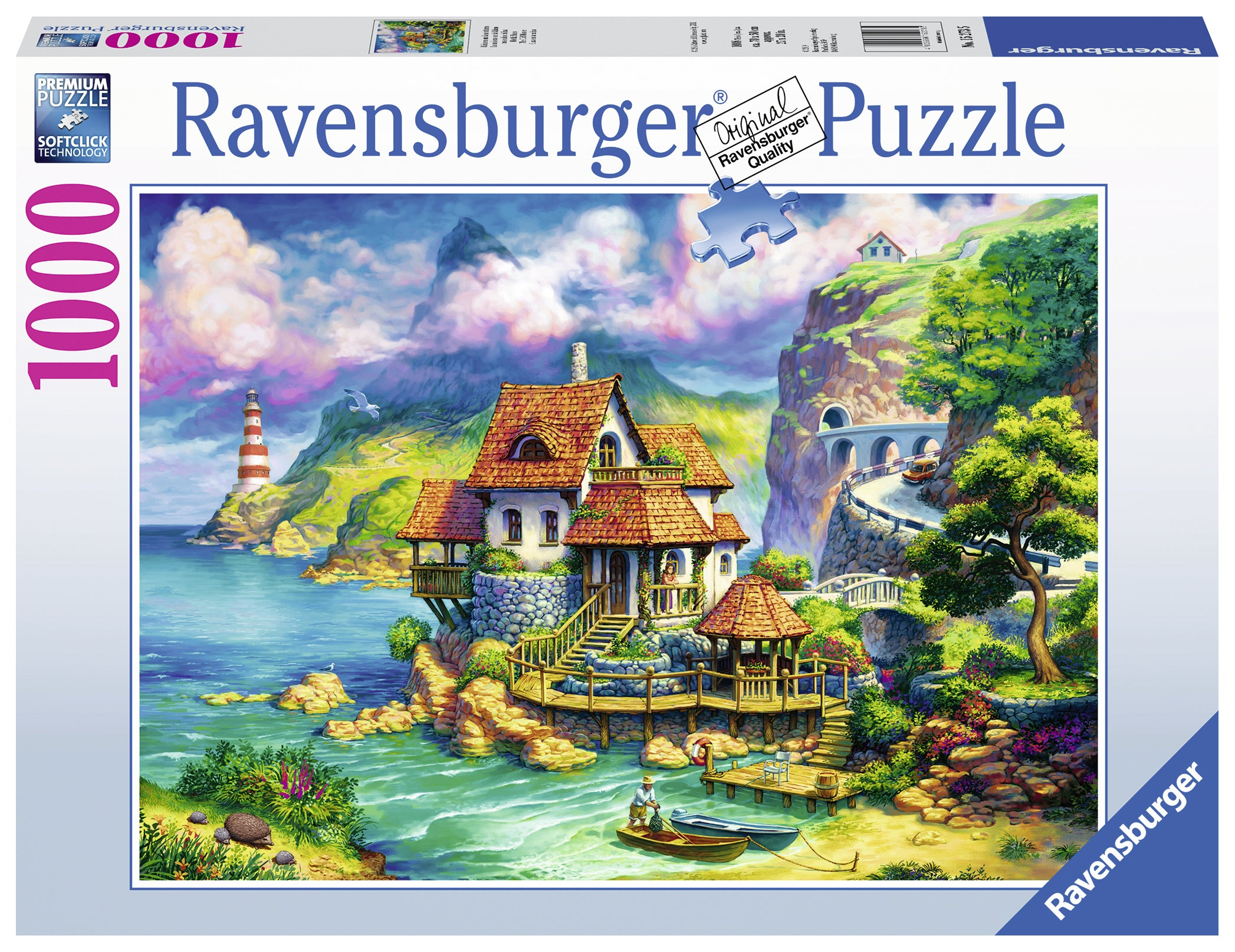 The Cliff House - 1000 pc Puzzle