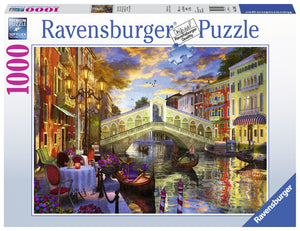 Sunset over Rialto 1000 pc Puzzle