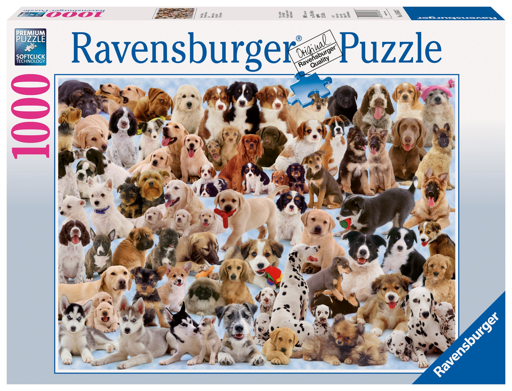 Dogs Galore! 1000 piece jigsaw puzzle