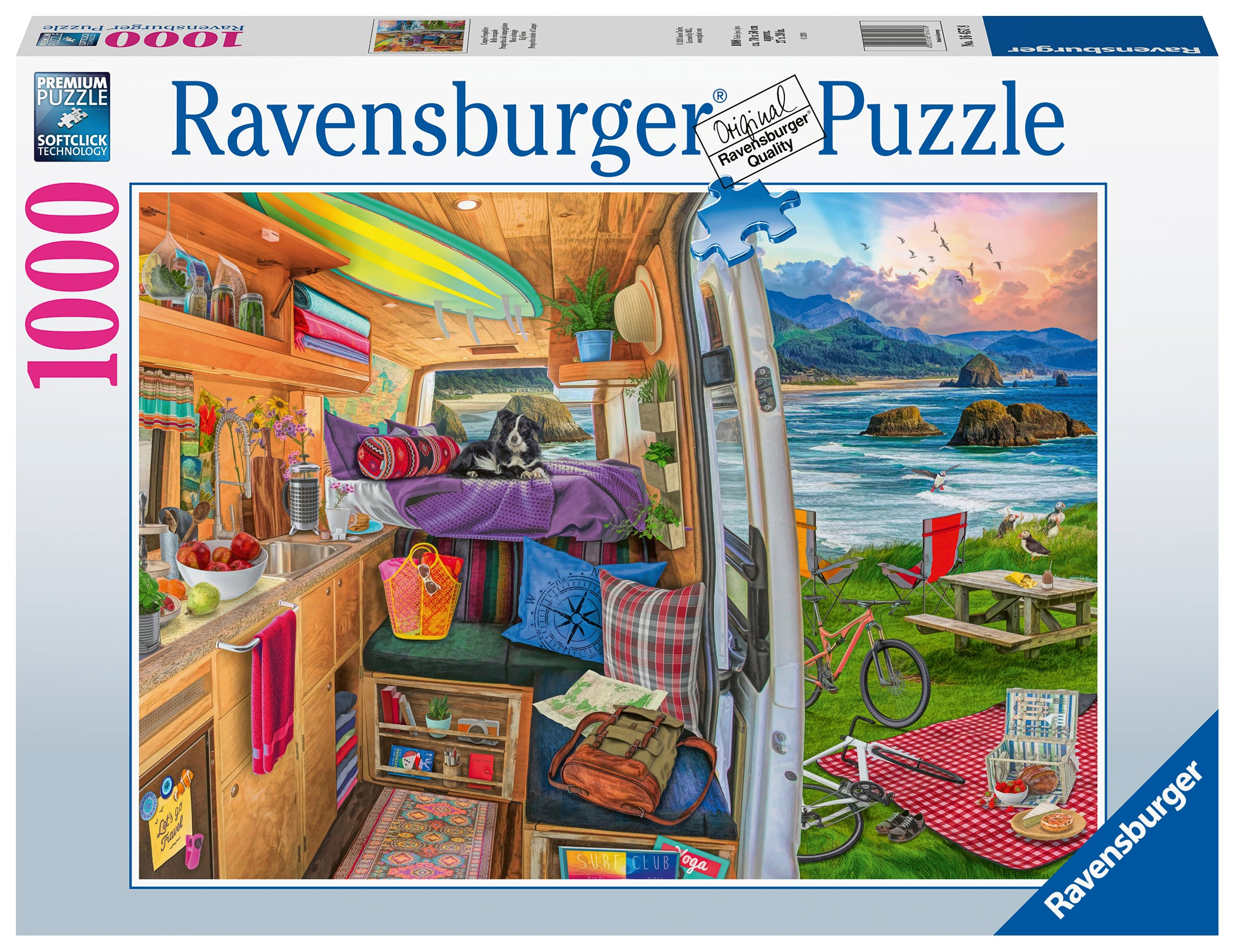 Rig Views 1000 pc Puzzle