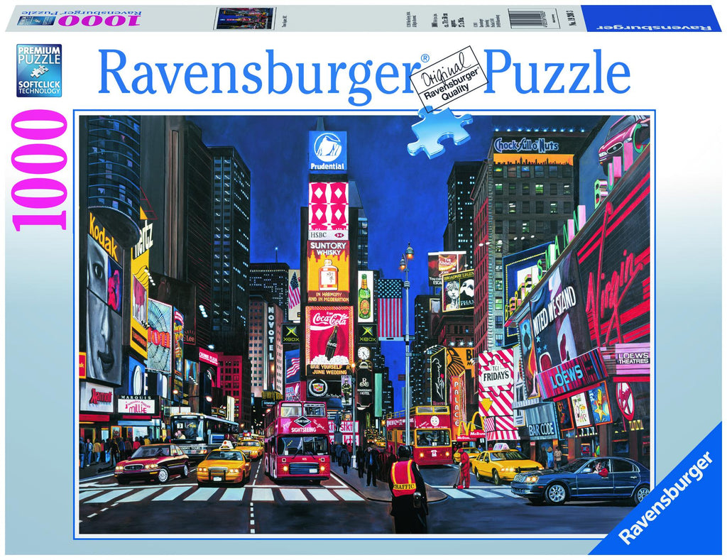Times Square NYC 1000 Piece Jigsaw Puzzle