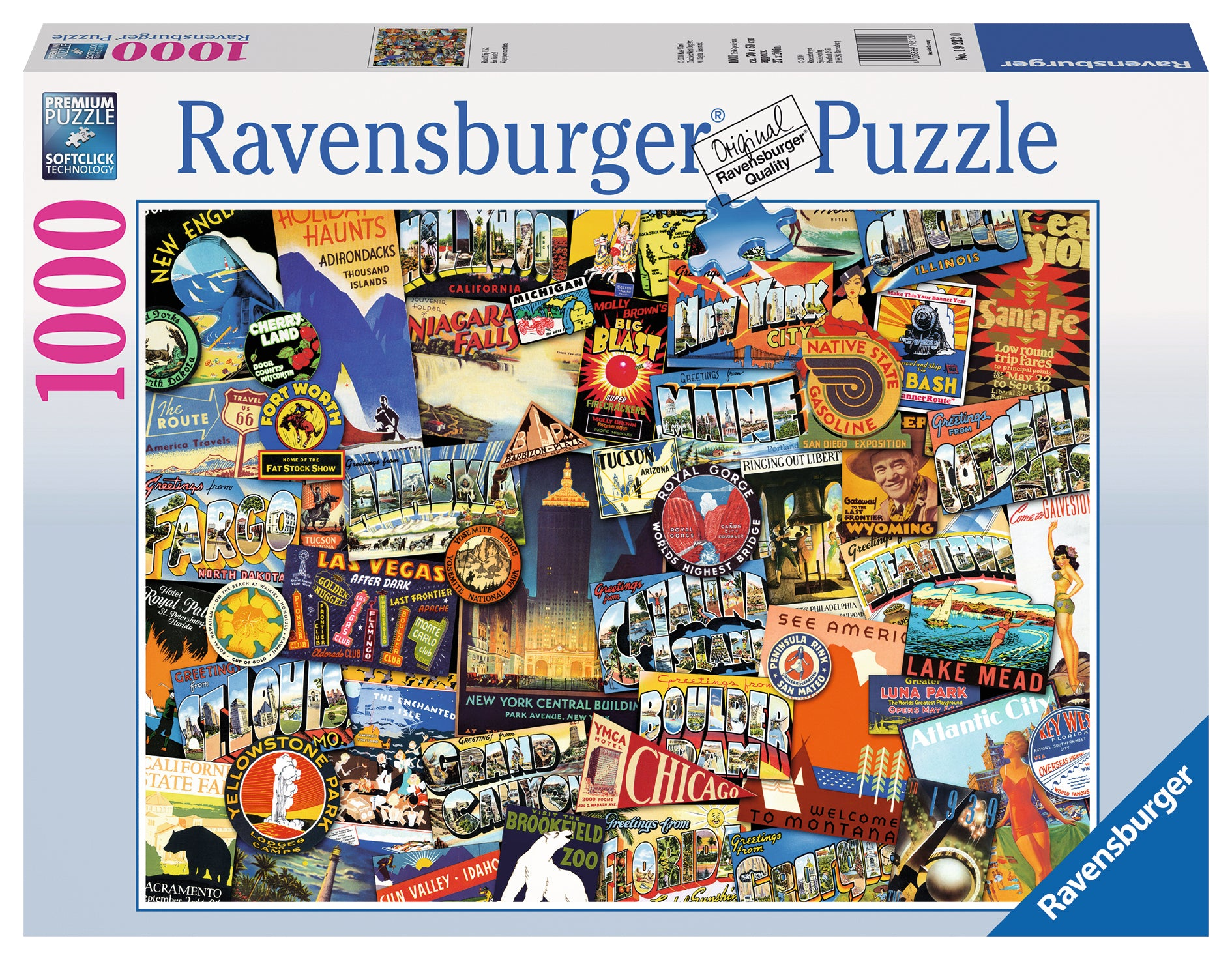 Road Trip USA 1000 piece jigsaw puzzle