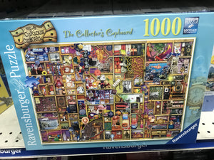 The Collector's Cupboard 1000 piece jigsaw puzzle