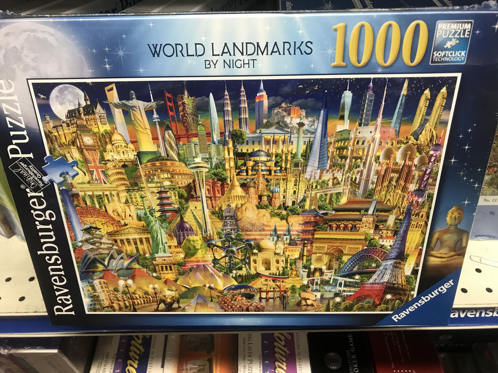 Ravensburger World Landmarks at Night Jigsaw Puzzle