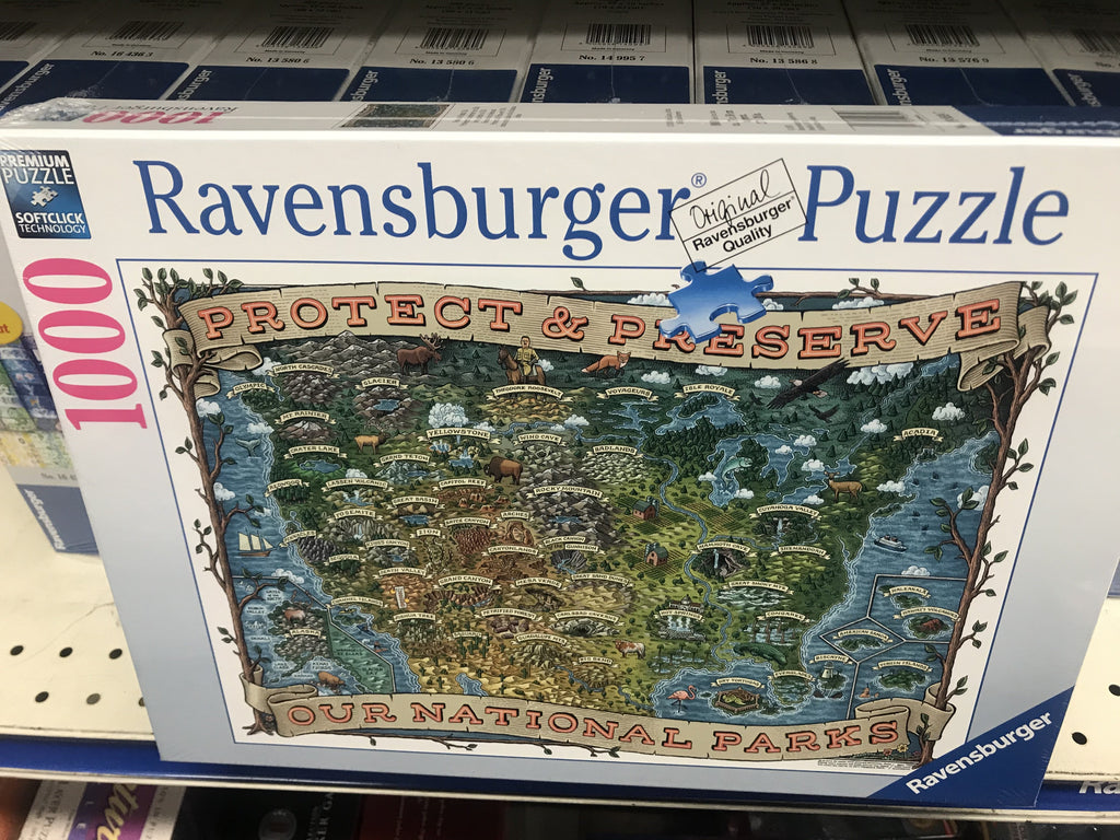 Ravensburger Protect and Preserve USA Jigsaw Puzzle