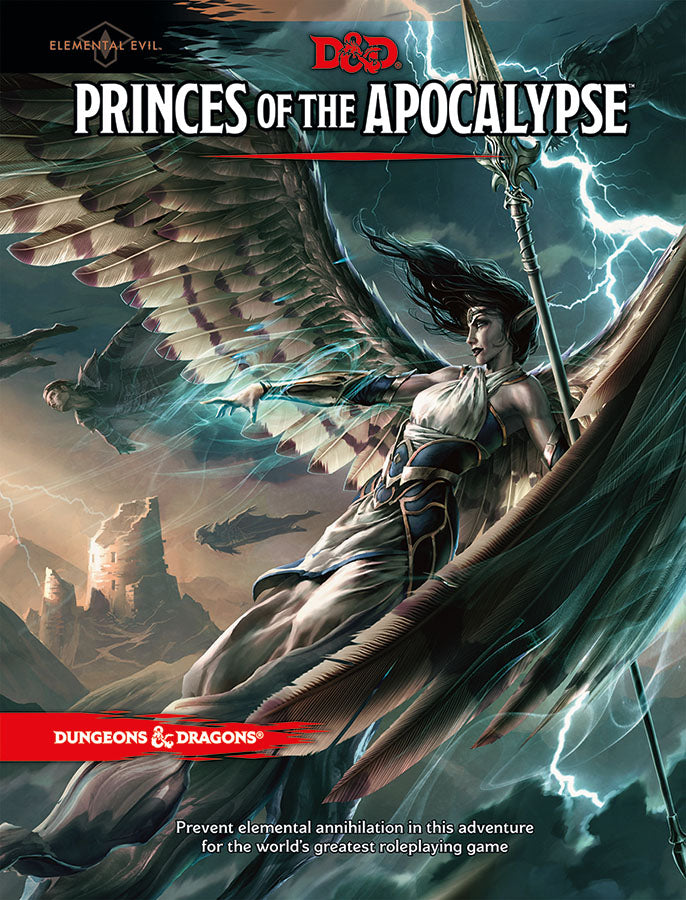Dungeons and Dragons RPG: Elemental Evil - Princes of the Apocalypse