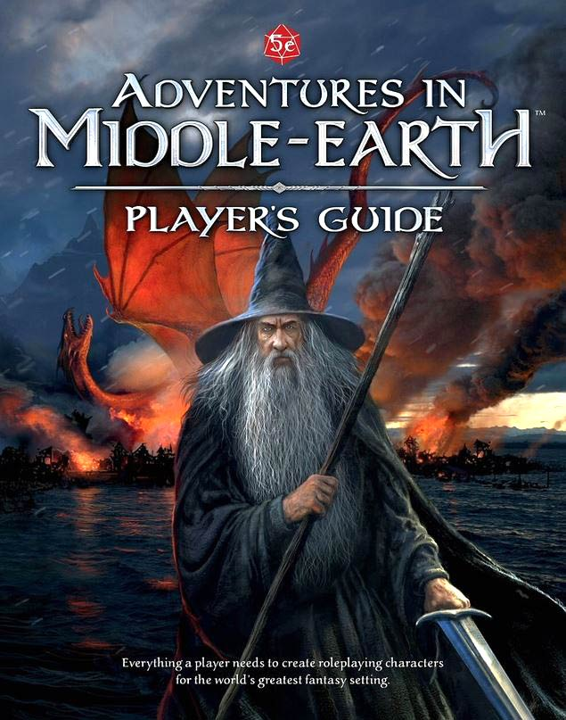 Dungeons and Dragons RPG: Adventures in Middle-Earth - Player's Guide Hardcover