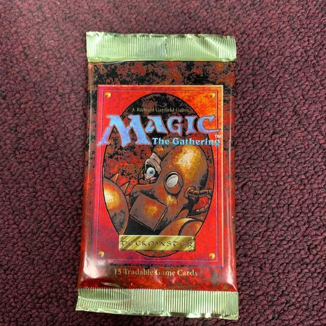 Magic the Gathering: 4th Edition (three packs for $50.00)