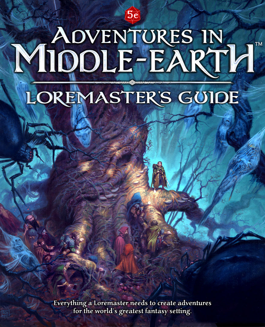 Dungeons and Dragons RPG: Adventures in Middle-Earth - Loremaster's Guide Hardcover