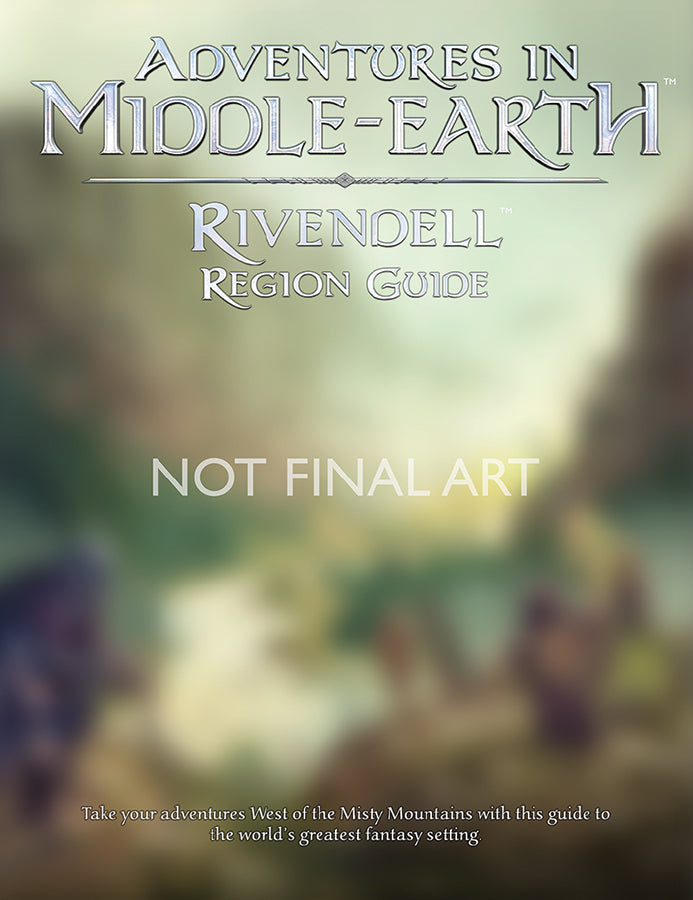 Dungeons and Dragons RPG: Adventures in Middle-Earth - Rivendell Region Guide
