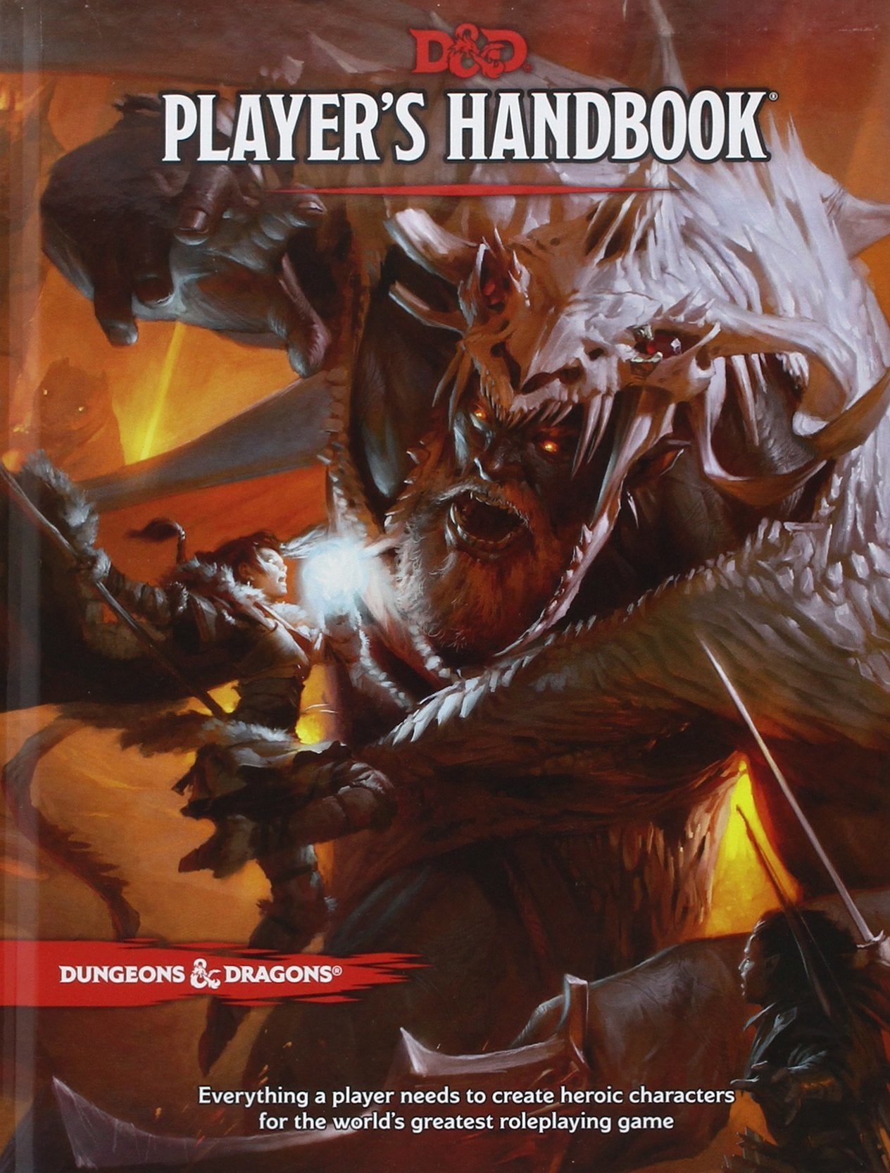 Dungeons & Dragons RPG:  5E Players Handbook