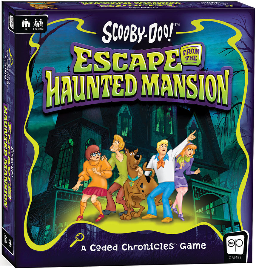 Coded Chronicles: Scooby-Doo: Escape from the Haunted Mansion Game