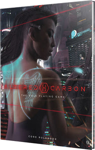 Altered Carbon RPG: Core Rulebook Hardcover