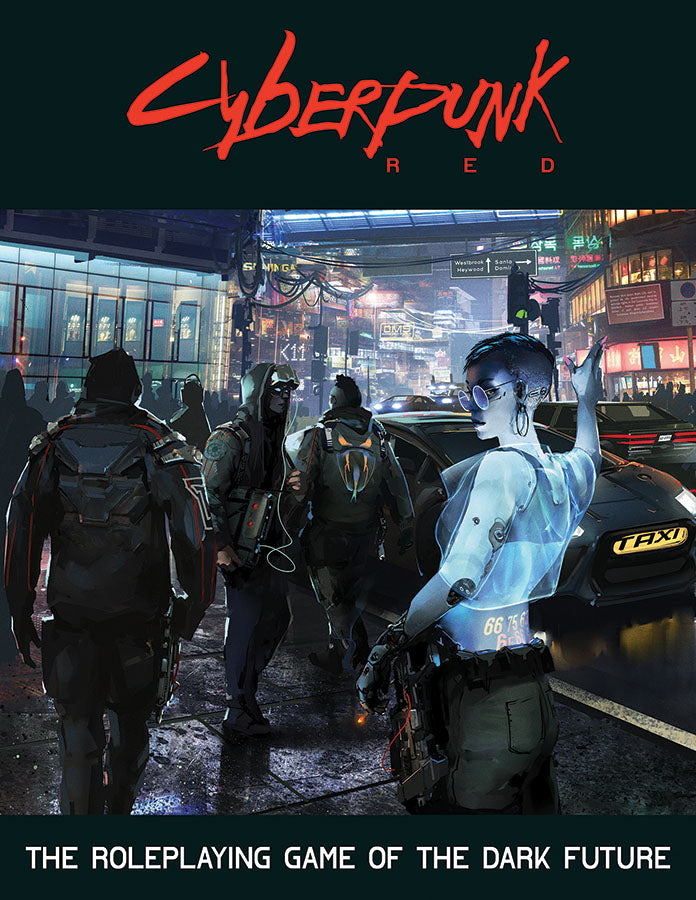 Cyberpunk Red: Core Rulebook (Preorder)