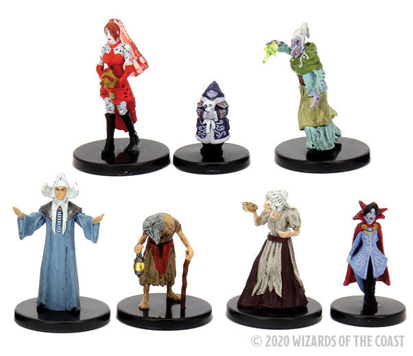 Dungeons & Dragons Fantasy Miniatures: Icons of the Realms - Curse of Strahd Covens & Covenants Premium Box Set