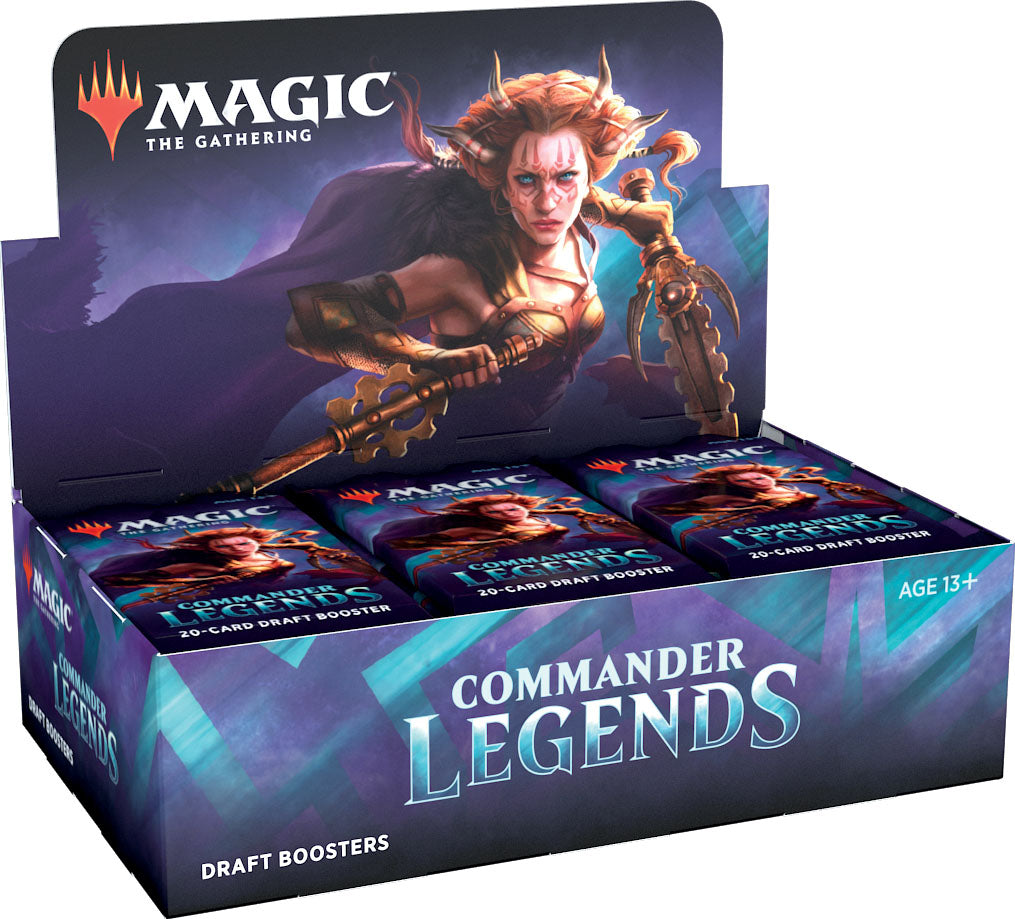 Magic the Gathering CCG: Commander Legends Draft Booster Display (24) (Preorder)