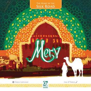 Merv the Heart of the Silk Road Hot New Board Game
