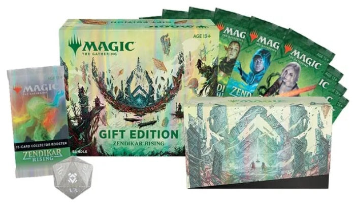 Magic the Gathering CCG: Zendikar Rising Bundle Gift Edition