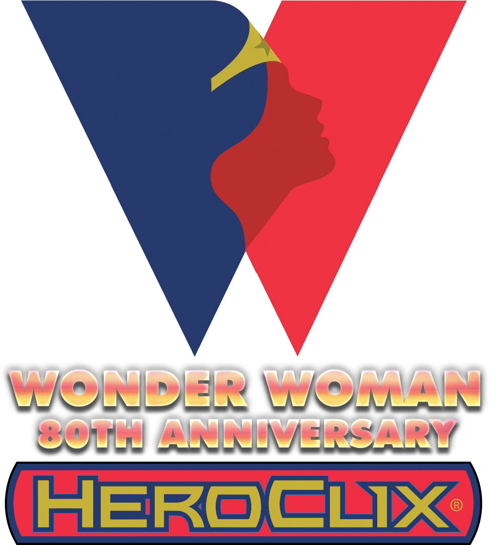 DC HeroClix: Wonder Woman 80th Anniversary Dice and Token Pack