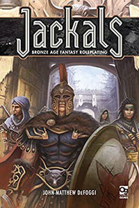 Jackals RPG: Bronze Age Fantasy Roleplaying Front of Book